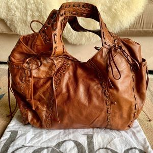 Authentic Kooba Leather Marcelle Hobo Bag